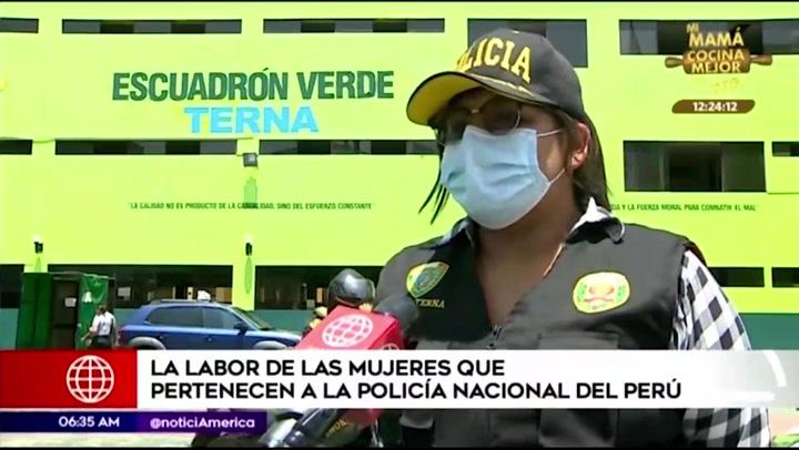 Destacan labor de las mujeres policías en víspera del Día de la Mujer