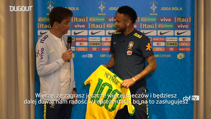 Neymar otrzymał specjalny prezent
