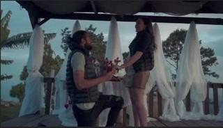 Edrick Menjívar se compromete en matrimonio con su hermosa novia previo al clásico Motagua vs. Olimpia