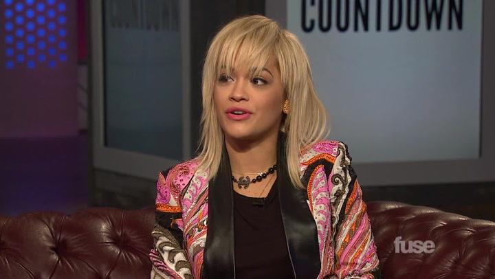 """Shows: Top 20: Rita Ora """"Black Widow"""" Clip"""