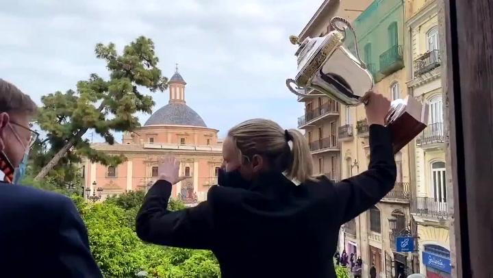Valencia disfruta del primer éxito femenino