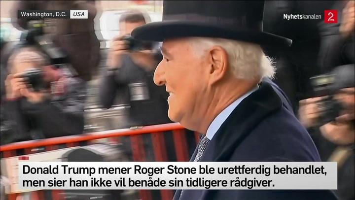 tidligere Trump-rådgiver Roger Stone