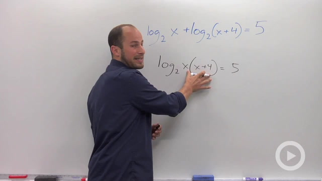 Solving a Logarithmic Equation with Multiple Logs - Problem 2