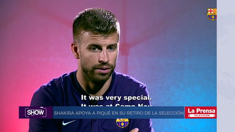 Show, resumen del 13-8-2018. Shakira apoya a Piqué en su retiro de la selección de España