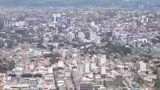 Panorámica de la ciudad de Tegucigalpa ya que mañana estará de aniversario