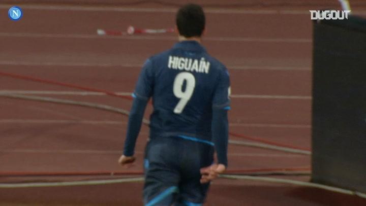Gonzalo Higuain's last-minute Coppa Italia quarter-final winner vs Inter