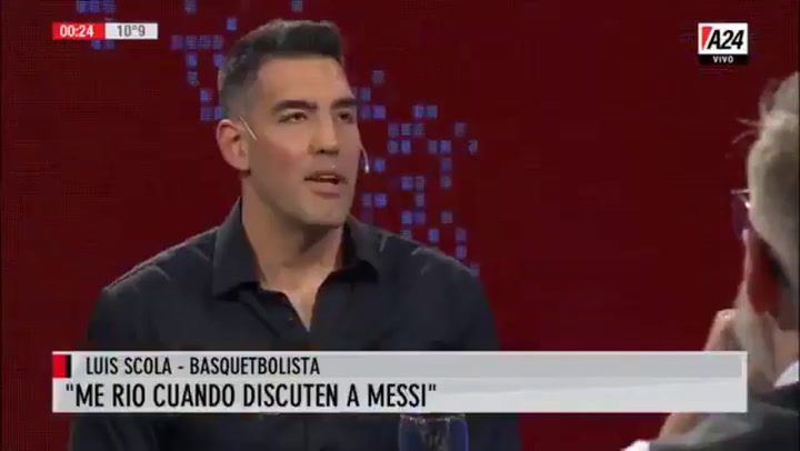 El día que Luis Scola alabó a Leo Messi