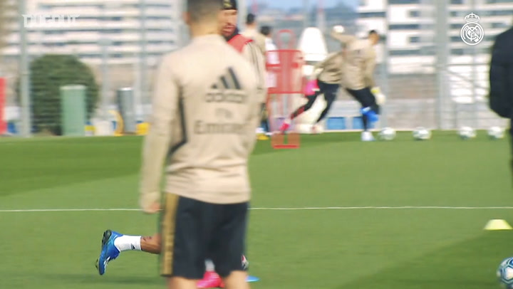 Real Madrid begin preparations for Levante clash