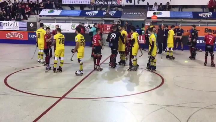 Suspendido el Reus Deportiu-Barça por goteras