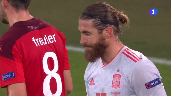 ¡Ramos falla otro penalti ante Suiza!
