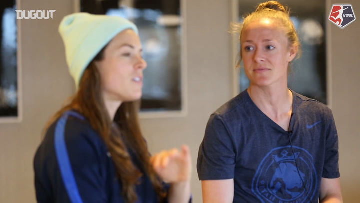 Player Insight with Kelley O'Hara and Becky Sauerbrunn