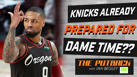 Are the Knicks ready to make a move for Damian Lillard? | The Putback with Ian Begley