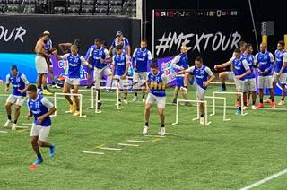 La Selección de Honduras reconoció el Mercedes Benz Stadium y está lista para la batalla con México