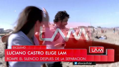 Luciano Castro dio su versión sobre la separación de Sabrina Rojas