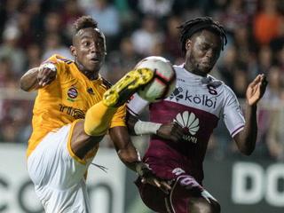 La cara de la derrota de Tigres tras perder ante Saprissa en Concachampions
