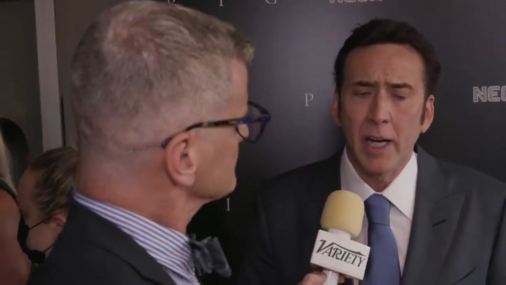 Nicolas Cage on Why 'Tiger King' Movie Got Shelved