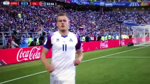 Argentina no pudo vulnerar a Islandia y apenas empató en el inicio del Mundial