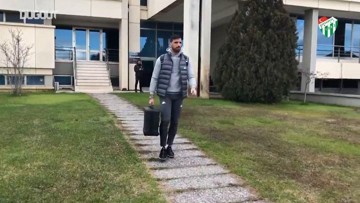 Bursaspor'un Akhisarspor Yolculuğu Başladı