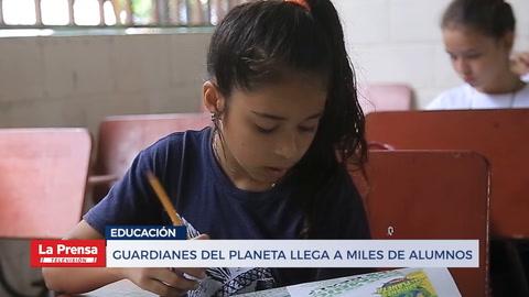 Guardianes del planeta llega a miles de alumnos