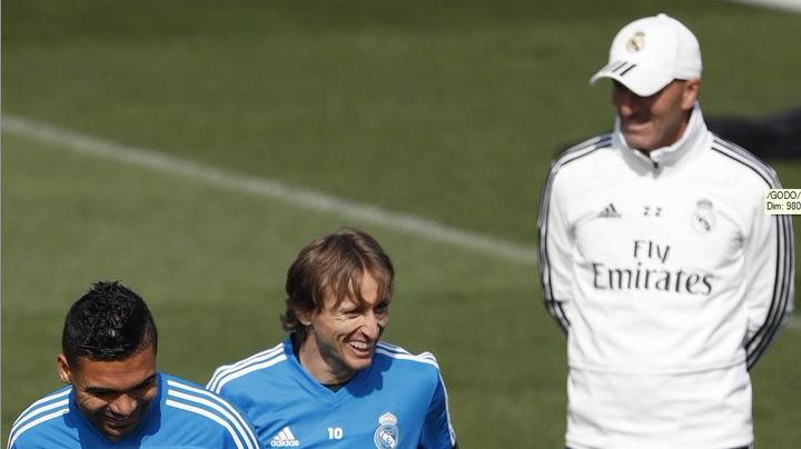El Real Madrid prepara el partido ante el Leganés