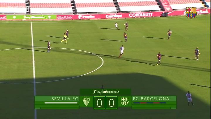 Resumen: Sevilla FC Femenino 0-2 FC Barcelona Femení