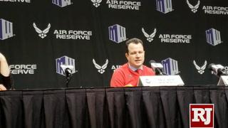 New Mexico coach Paul Weir on his team