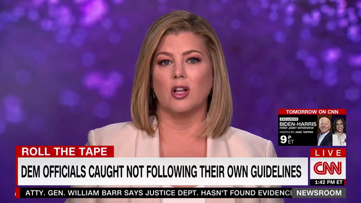 CNN's Keilar to 'Democratic Leaders' Ignoring Their Own Covid Guidelines: 'Look in the Mirror'