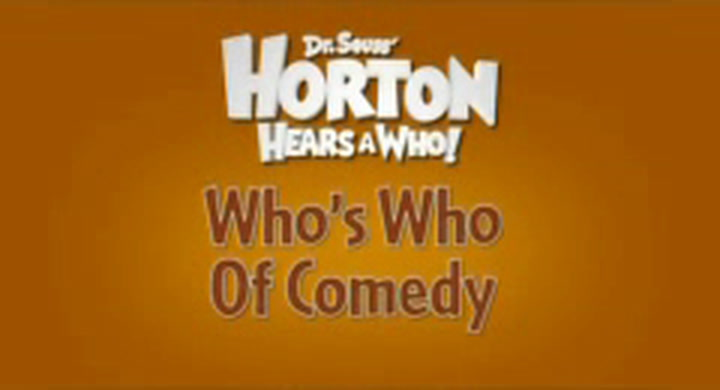 Behind the Scenes; Who's Who of Comedy