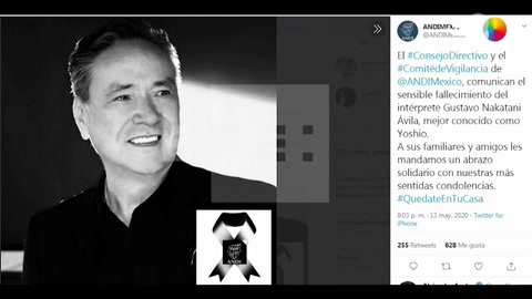 El cantante mexicano Yoshio muere por complicaciones de COVID-19