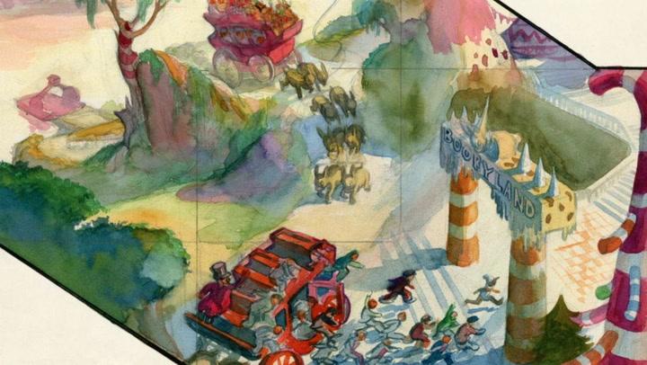 Walt Disney Describes 'Pinocchio's' Pleasure Island