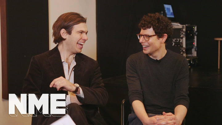 Simon Amstell and Klaxons' James Righton on working together