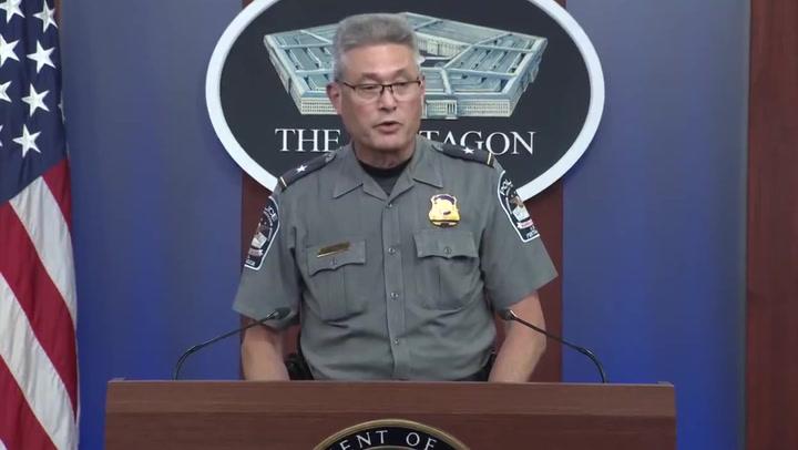 Police confirm 'several casualties' in Pentagon shooting