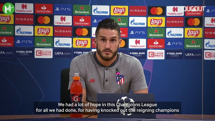 """Koke: """"We need to carry on and comeback from this, as we always have"""""""