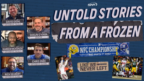 Like We Never Left: Untold Giants stories from a frozen NFC Championship Game