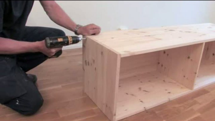 Hvordan bygge en perfekt tv-benk - 2 av 3