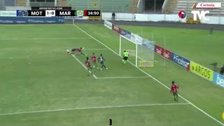 Gonzalo Klusener anotó el 1-0 para Motagua ante Marathón