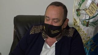 El presidente de Guatemala se contagió de covid-19