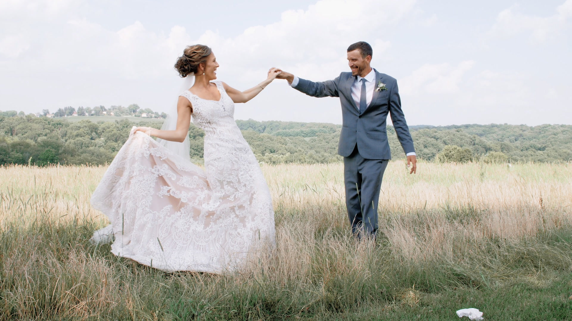 Ashley + Andrew | Dallastown, Pennsylvania | Wyndridge Farm