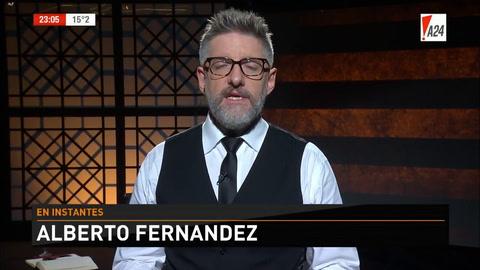 Alberto Fernández: Los cuadernos de Centeno suenan a operación de los servicios