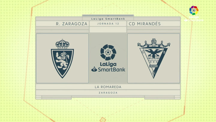 LaLiga SmartBank (J12): Resumen y goles del Zaragoza 1-2 Mirandés