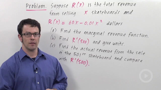 Economics: Marginal Cost & Revenue - Problem 2