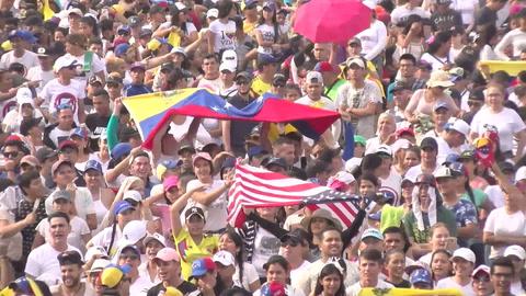 Cierra megaconcierto a favor de ingreso de ayuda a Venezuela