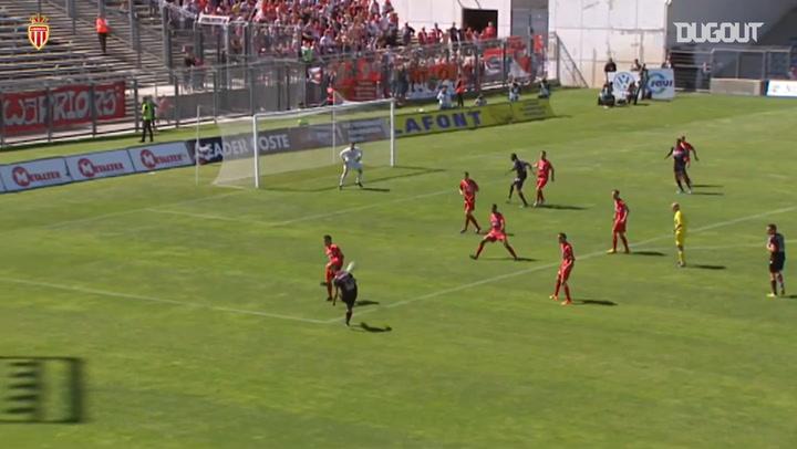 Monaco's last goals vs Nîmes