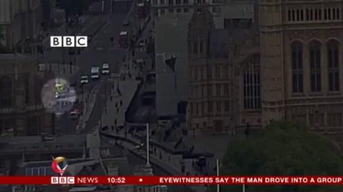 Pánico y heridos en Londres por un atentado frente al Parlamento
