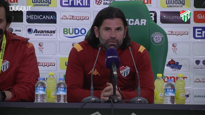İbrahim Üzülmez, Boluspor Maçı Sonrası Açıklamalarda Bulundu