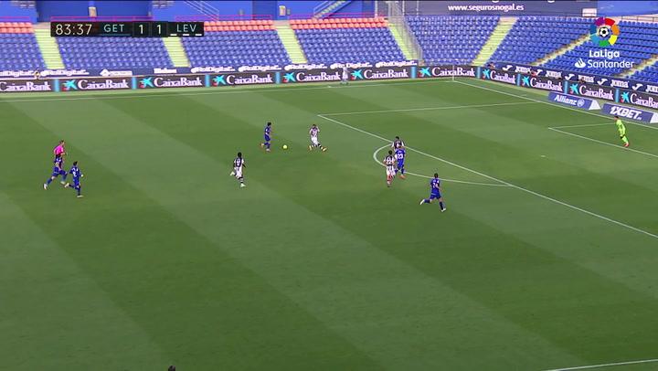 Gol de Kubo (2-1) en el Getafe 2-1 Huesca
