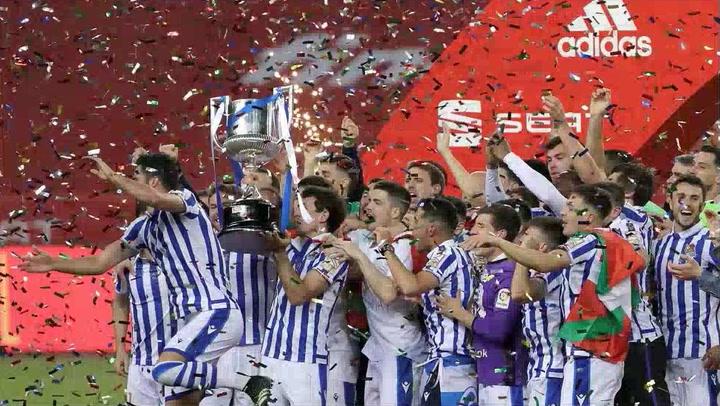 Copa del Rey: Athletic Club-Real Sociedad (0-1)