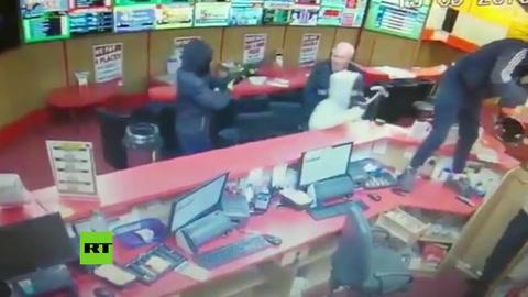 Un anciano puso en fuga a ladrones armados