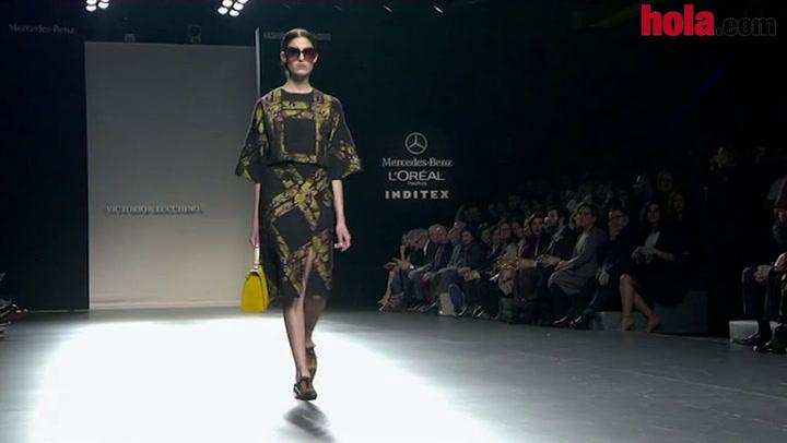 Fashion Week Madrid otoño-invierno 2014-2015: Victorio & Lucchino
