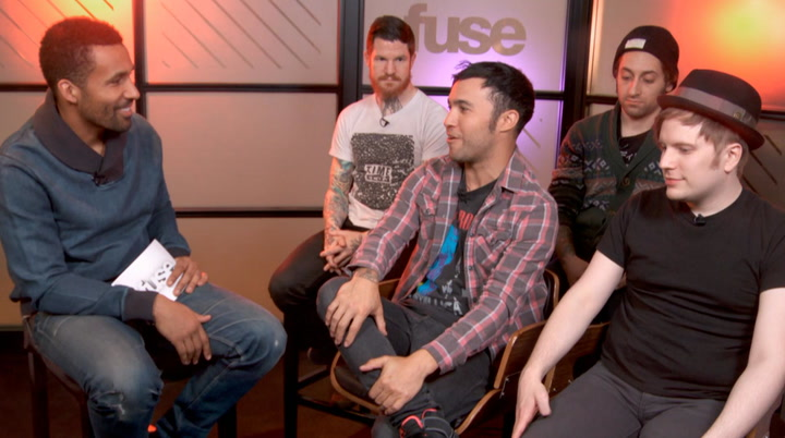 Interviews: Fall Out Boy Explain Why They're Rooting for the Denver Broncos